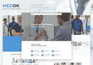 Medoc-医疗与健康一页模板
