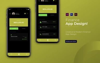 财务| 应用设计模板