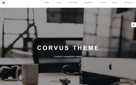Corvus-代理商业务HTML模板