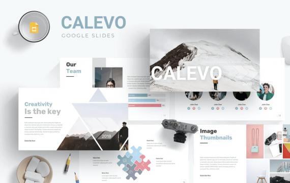 Calevo-Google幻灯片模板