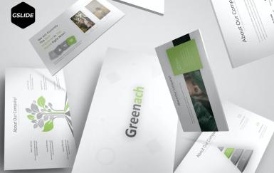 Greenach-Google幻灯片模板