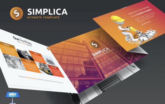 Simplica主题演讲keynote模板