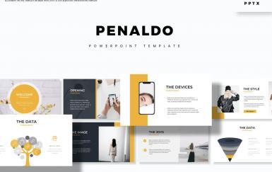 Penaldo-PowerPoint模板