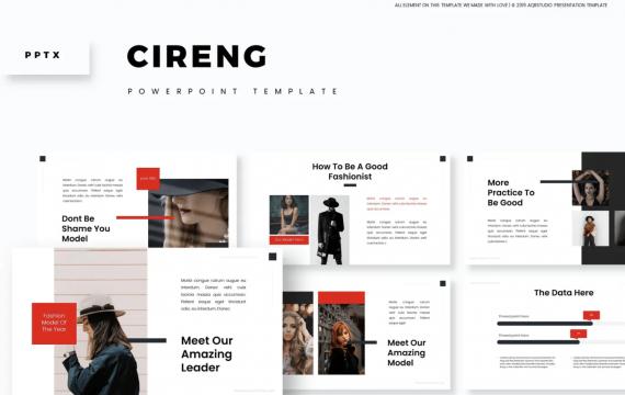 Cireng-PowerPoint PPT模板
