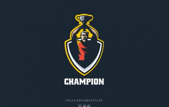 冠军体育和电子竞技徽标