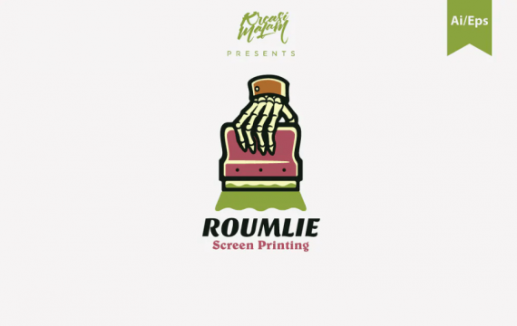 Roumlie徽标模板