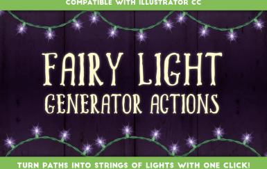 童话光发生器-Illustrator动作