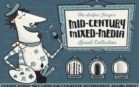 中世纪混合媒体收藏