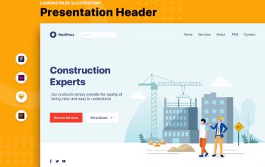 RealPress-Web网页模板