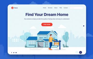 Maren-房地产网站网页模板