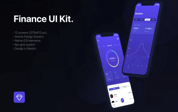 财务UI套件模板