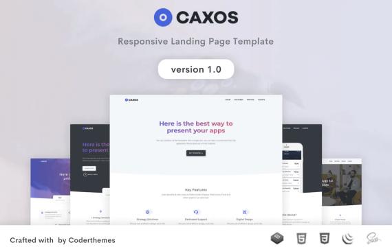 Caxos-登陆页面模板