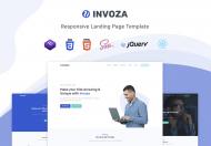 Invoza-React登陆页面模板