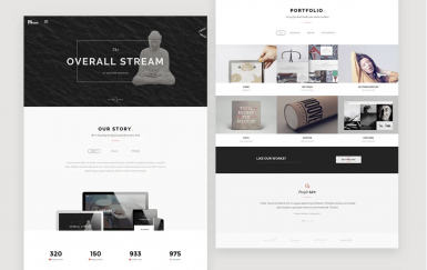 BigStream-一页多用途网站模板