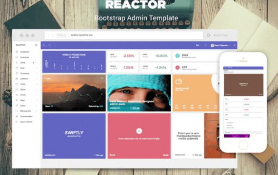 Reactor-Bootstrap后台管理模板