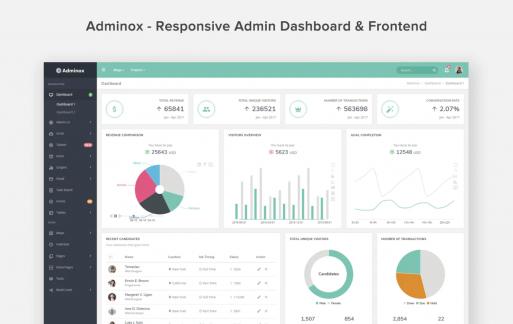 Adminox-响应式管理仪表板和前端