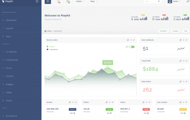 PlayKit-Web应用程序工具包和仪表板
