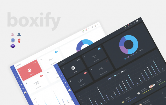 Boxify-Bootstrap 4管理员仪表板