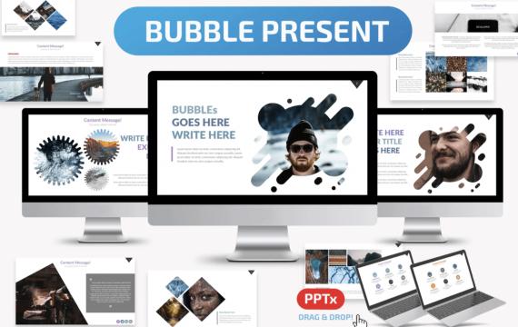 气泡PowerPoint模板