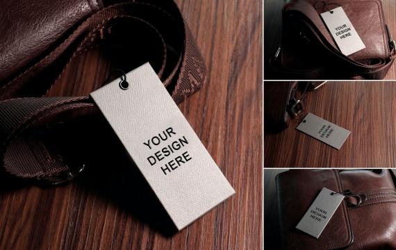 标签样机vol.01 DR皮包标签样机展示