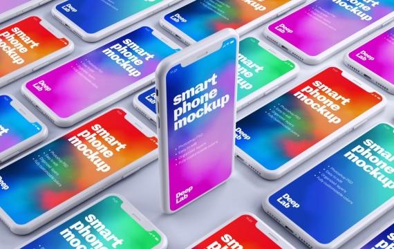 iPhone 11 Pro粘土模型苹果手机样机下载