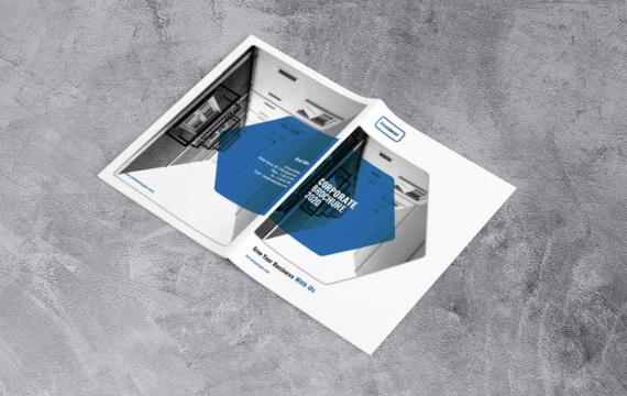 企业宣传册业务模板