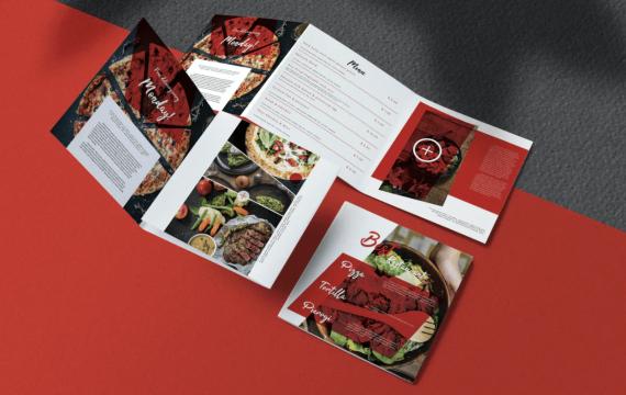 食品/比萨宣传手册