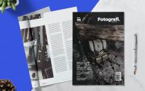 FOTOGRAFI-杂志模板下载