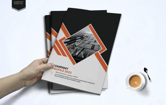 公司简介宣传画册模板