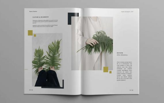 KALYNA-时尚Lookbook和杂志模板