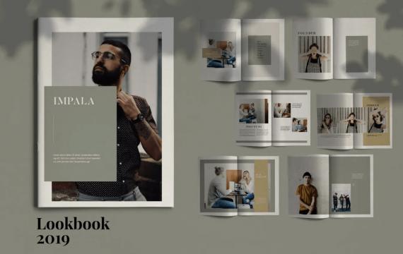 IMPALA-宣传册画册模板