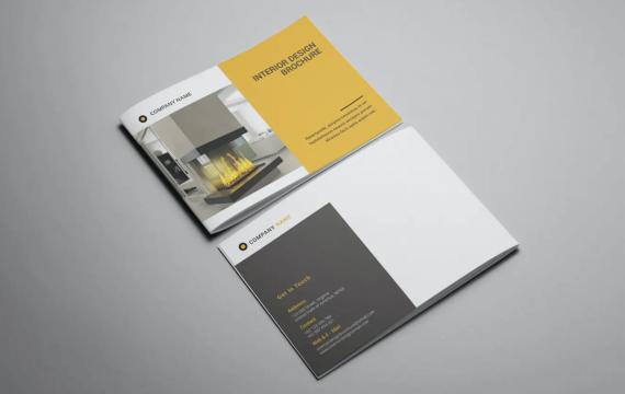 Intersign-室内设计宣传册模板