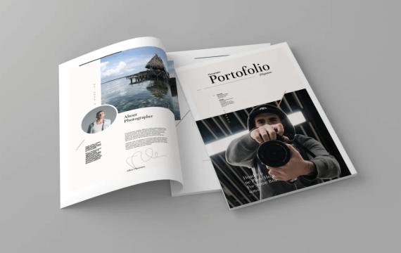 Portofolio-杂志模板下载