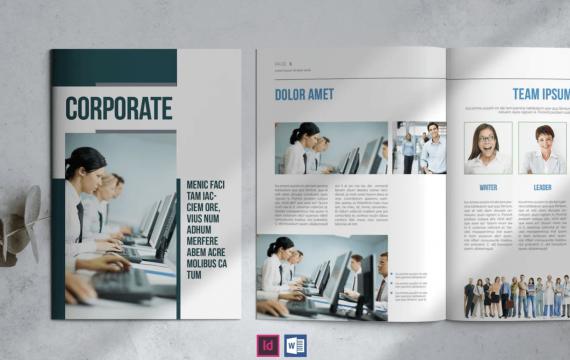 企业简介宣传册手册模板