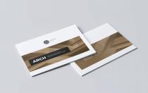 新现代建筑InDesign宣传手册模板