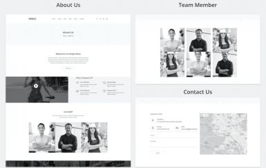 Uniqlo-极简主义电子商务网页html模板