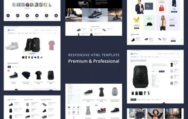AllStore-MultiConcept电子商务商店网页html模板