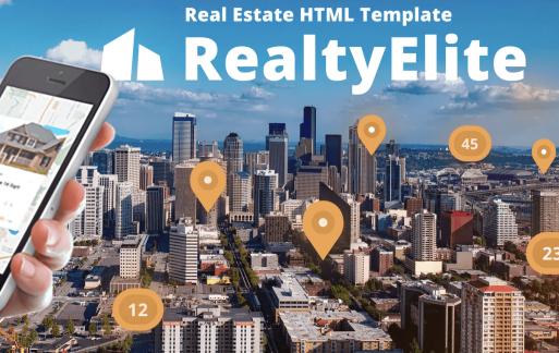 绝对-房地产自适应网页HTML模板