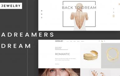 珠宝-电子商务网页HTML5模板