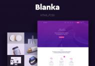 Blanka-网页前端HTML模板