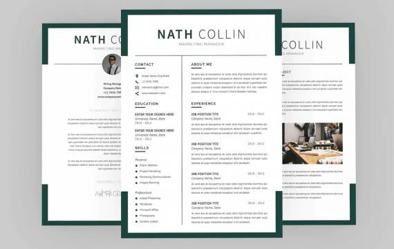 纳斯营销简历设计师个人简介求职履历表简历模板