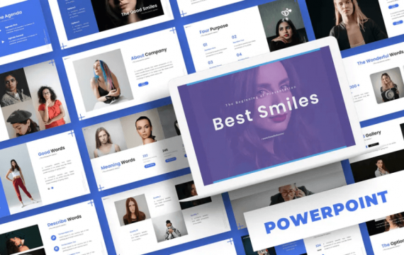 最好的微笑-PowerPoint模板