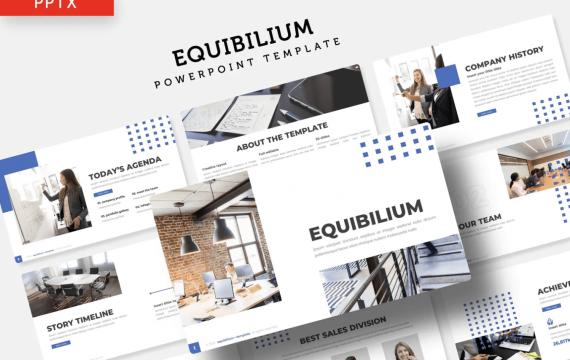 Equibilium-Powerpoint幻灯片模板