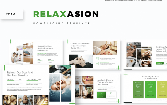 Relaxasion-PowerPoint幻灯片模板