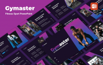 Gymaster-健身运动PowerPoint模板