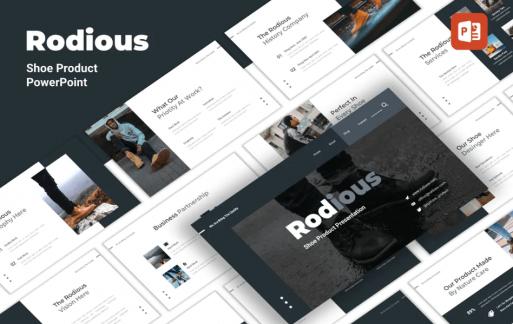 Rodius-鞋店PowerPoint模板