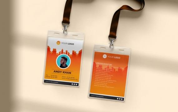 身份证卡Vol.11工作牌设计模板下载