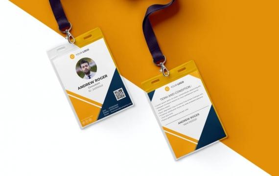 身份证卡Vol.16工作牌设计模板下载