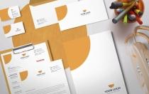Montell Leon-文具套装vi设计模板下载