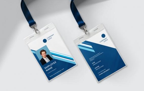 身份证卡Vol.10工作牌设计模板下载